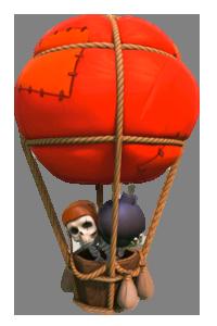 Воздушный шар 1 уровня