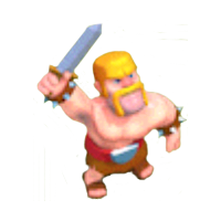 Barbarian Level 1 & 2 In-game View