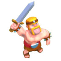 Barbarian Level 3 & 4 In-game View