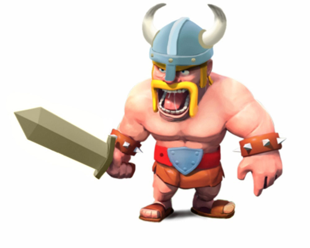 Clash of Clans | Barbarian | clash-wiki.com