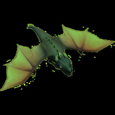 Дракон 1 уровня (вид в игре)