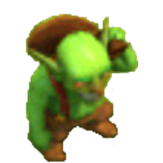 Goblin Level 1 & 2 In-game View