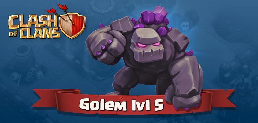 Golem Level 5
