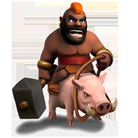 Hog Rider Level 5