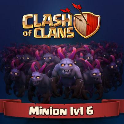 Миньон 6 уровня
