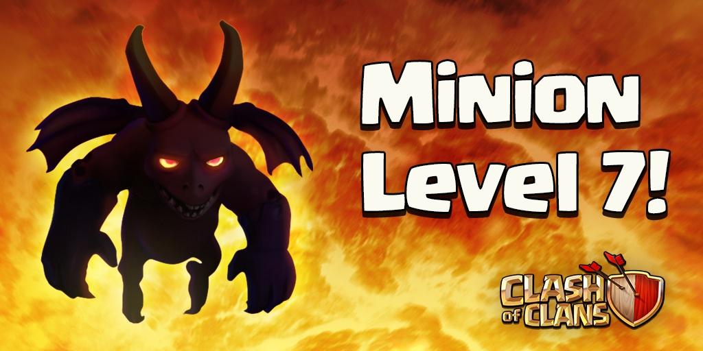 Миньон 7 уровня