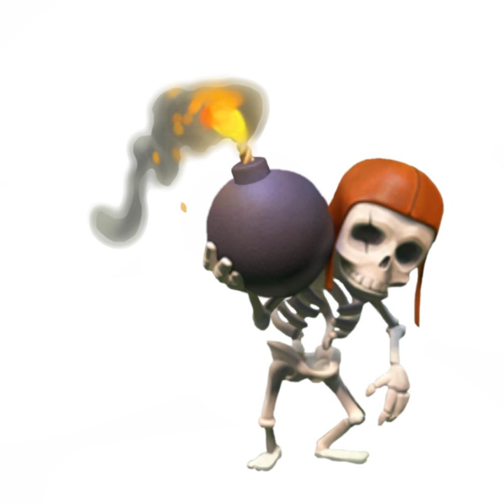 случае скелетон спел в клэш оф клэнс отбирает излишнюю