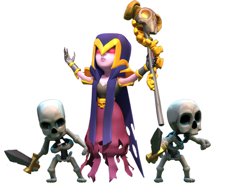Clash of Clans | Witch | clash-wiki.com