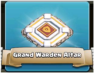 Grand Warden Altar