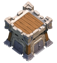 Крепость клана 3 уровня