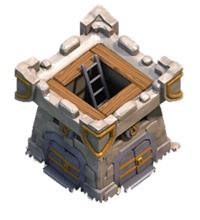 Крепость клана 4 уровня
