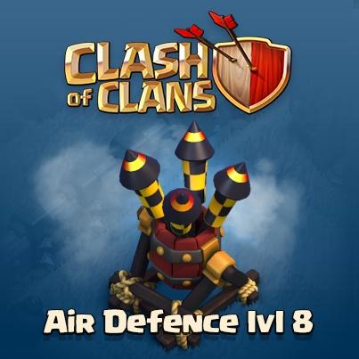 Воздушная оборона 8 уровня