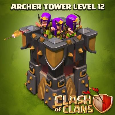 Башня лучниц 12 уровня