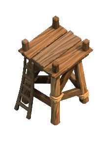 Башня лучниц 2 уровня