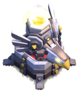 Орлиная артиллерия 1 уровня (режим атаки)