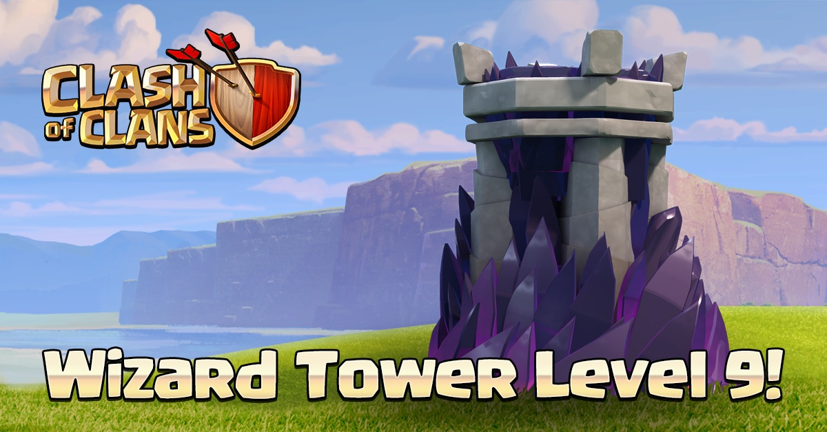 Башня колдуна 9 уровня