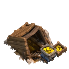 Золотая шахта 1 уровня