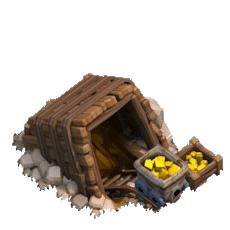 Золотая шахта 3 уровня