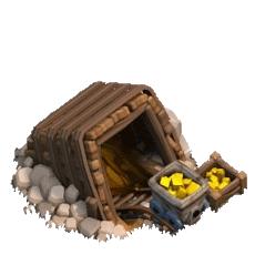 Золотая шахта 4 уровня