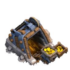Золотая шахта 9 уровня