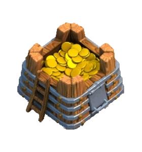 Золотохранилище 4 уровня