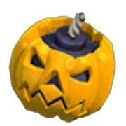 Pumpkin Bomb Armed (In-Game View)