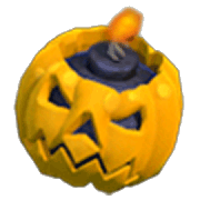 Pumpkin Bomb Triggered (In-Game View)