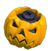 Pumpkin Bomb Unarmed (In-Game View)