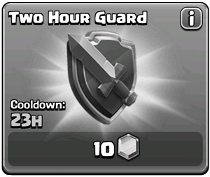 Guard Unavailable (Shield is Active)