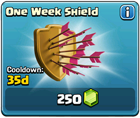One Week Shield