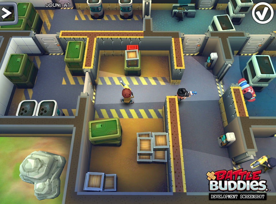 2012 Battle Buddies was one of the games that got axed