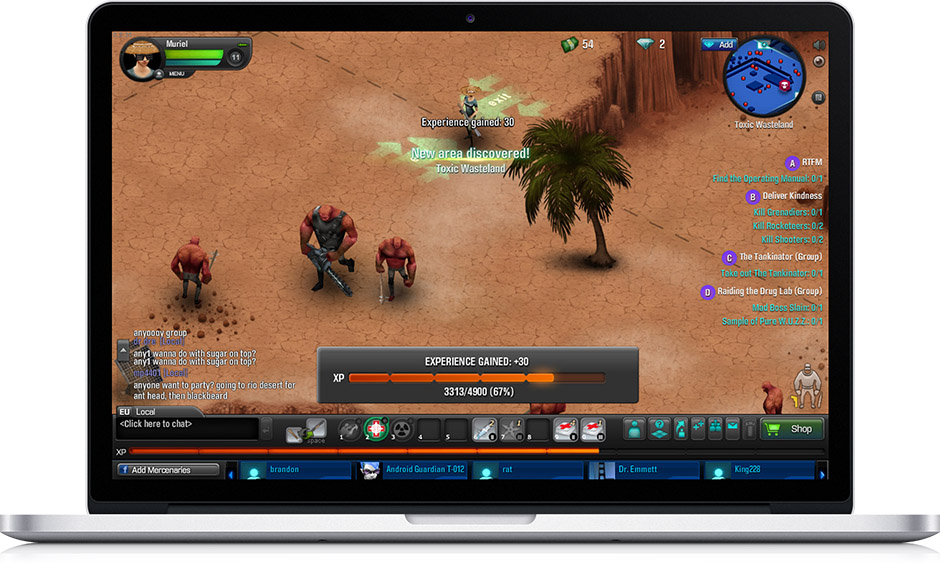 2011 Gunshine screenshot