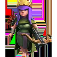 Королева Лучниц 10-19 уровня