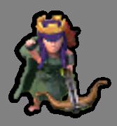 Королева Лучниц 10-19 уровня (приветствие)