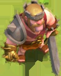 Король Варваров 10-19 уровня (вид в игре)