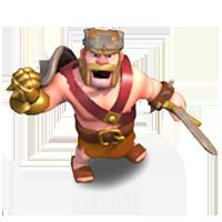 Король Варваров 10-19 уровня (приветствие)