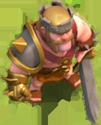 Король Варваров 20-40 уровня (вид в игре)
