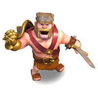 Король Варваров 20-40 уровня (приветствие)