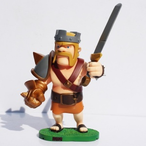 The Barbarian King Action Figure