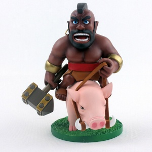 The Hog Rider Action Figure