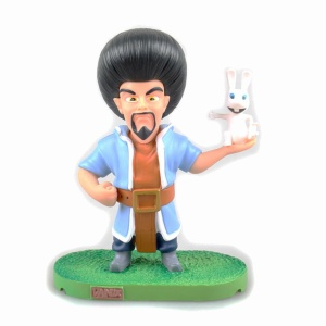 The Wizard with Rabbit Action Figure