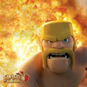 Clash of Clans Poster - Barbarian
