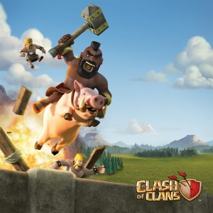 Clash of Clans Poster - Hog Rider