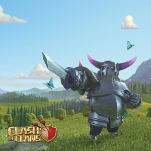 Clash of Clans Poster - P.E.K.K.A