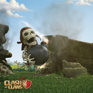 Clash of Clans Poster - Wall Breaker