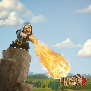 Clash of Clans Poster - Wizard