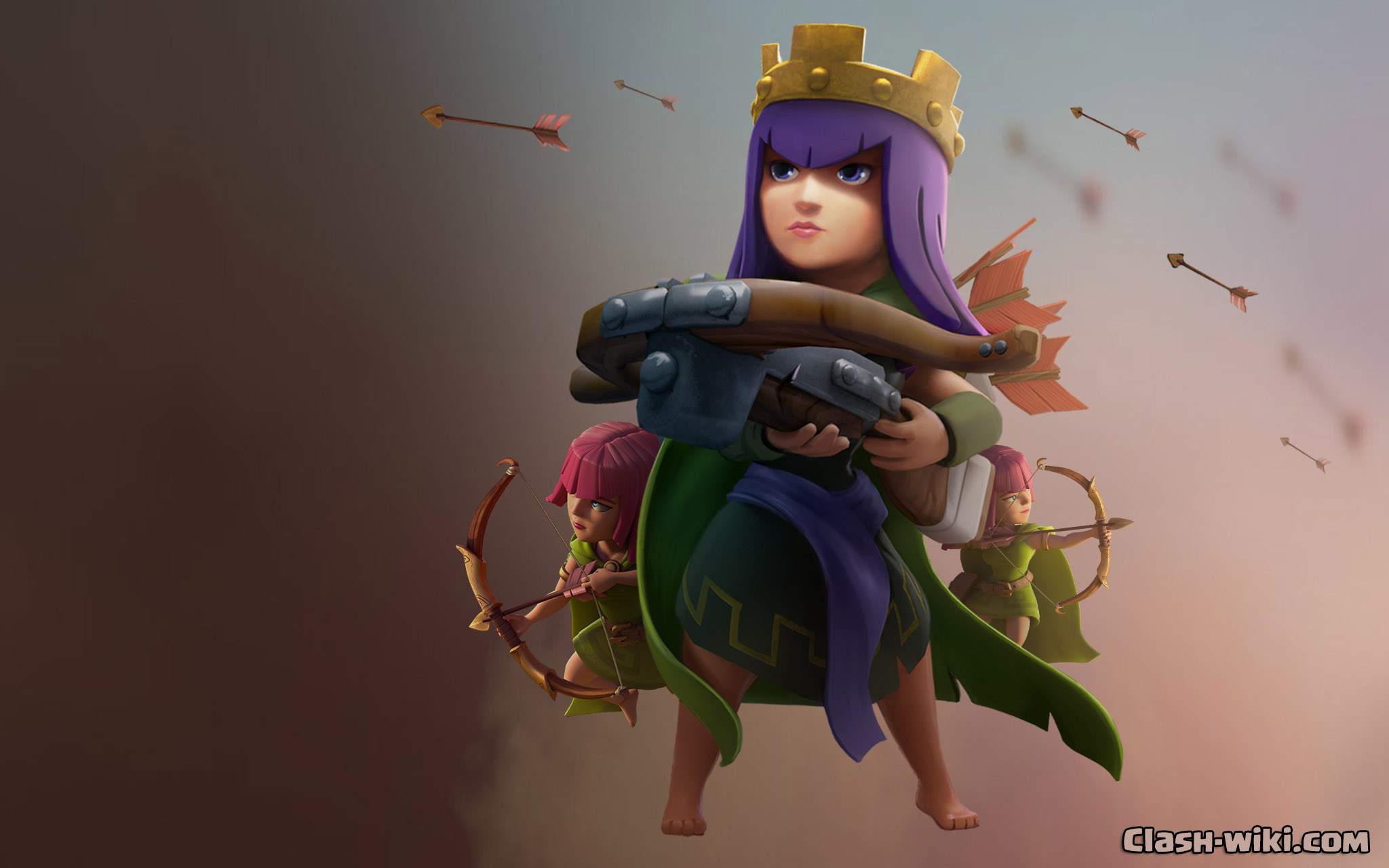 Clash of clans archer queen - Download clash of clans hack new ...