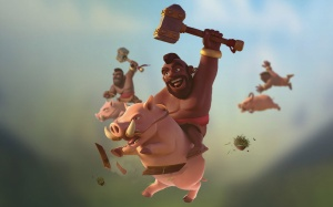 The Hog Rider - Walls? What walls?