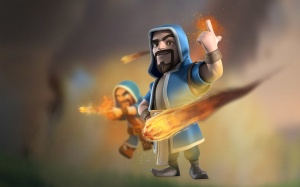 The Wizard - Perfect facial hair, perfect fireballs