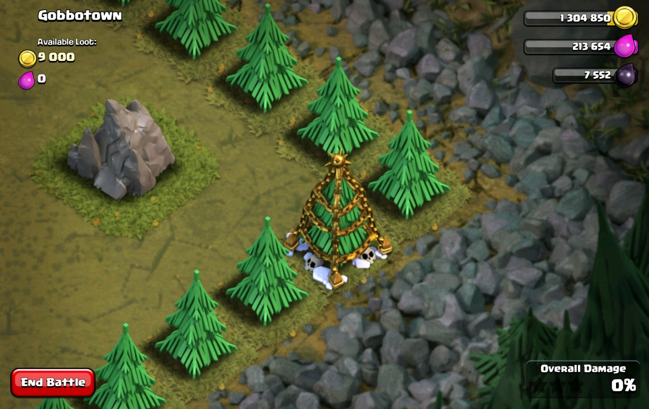 All Coc Christmas Trees.Clash Of Clans Game Secrets Clash Wiki Com